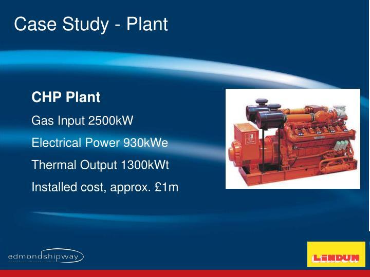 Case Study - Plant