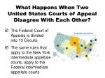 what happens when two united states courts of appeal disagree with each other