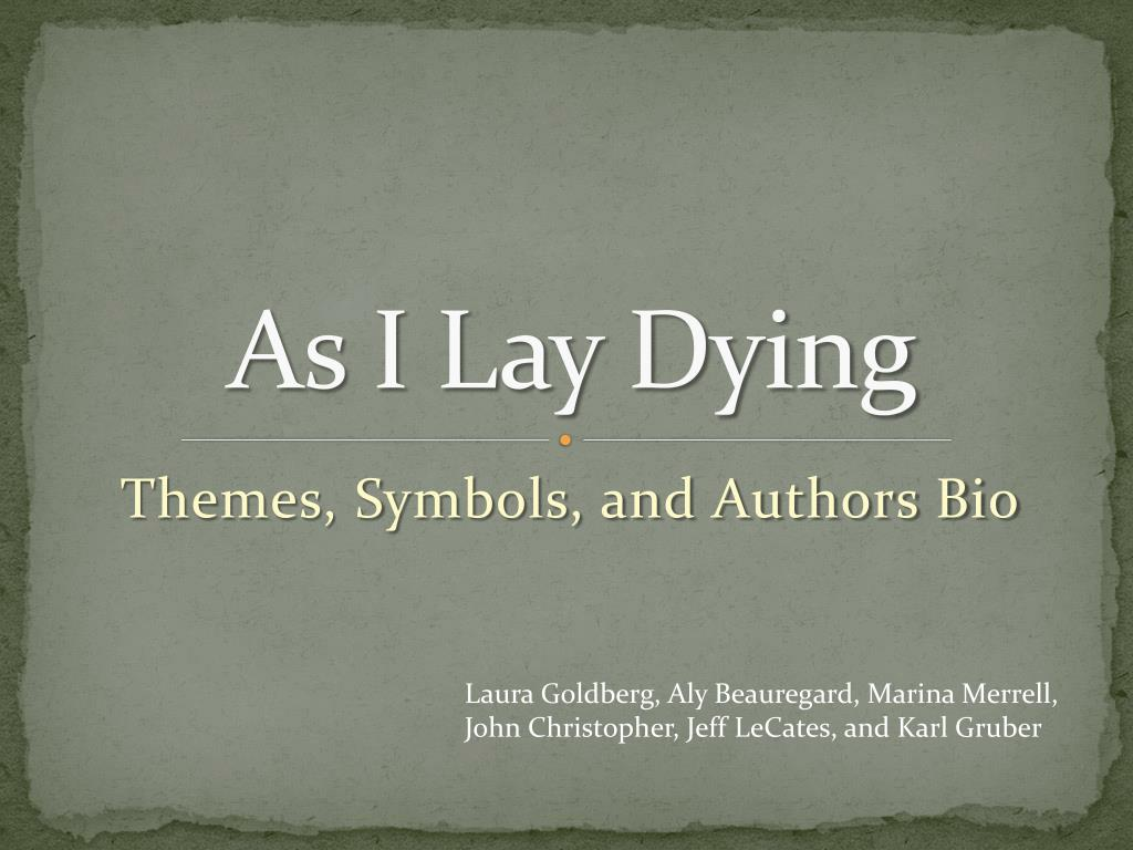 as i lay dying themes