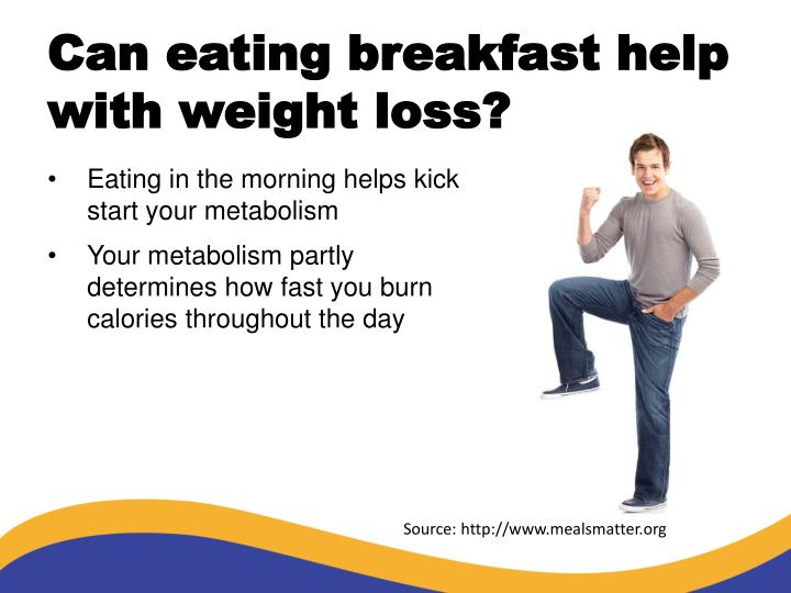Can eating breakfast help with weight loss?