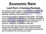economic rent3