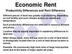 economic rent6