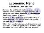 economic rent7