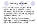extending the model2