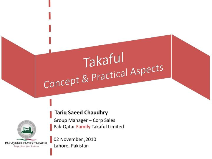 takaful concept practical aspects n.