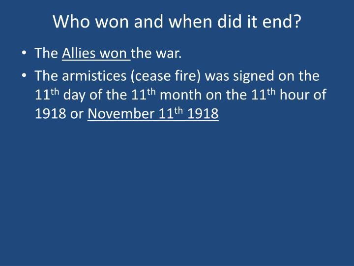 why did the allies win ww1 Michael jabara carley - history as propaganda: why the ussr did not 'win' world war ii (ii) - strategic culture foundation - on-line journal ussr churchill.