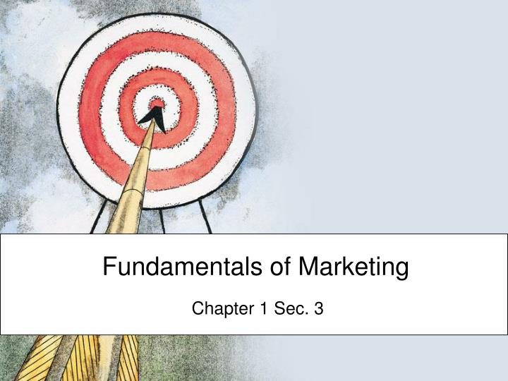 foundamentals of marketing Despite being the largest insurer in the motor vehicle market there are many new competitors this report aims to provide a summary of where aami is situated against its market competitors and help.