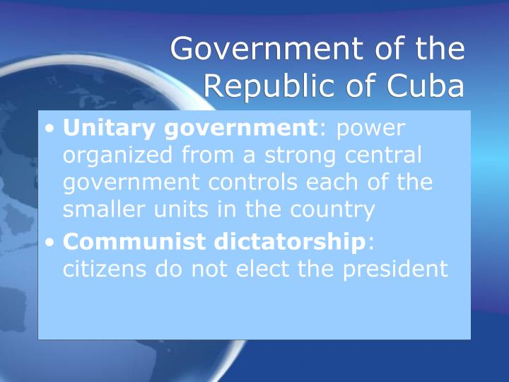 Government of the Republic of Cuba
