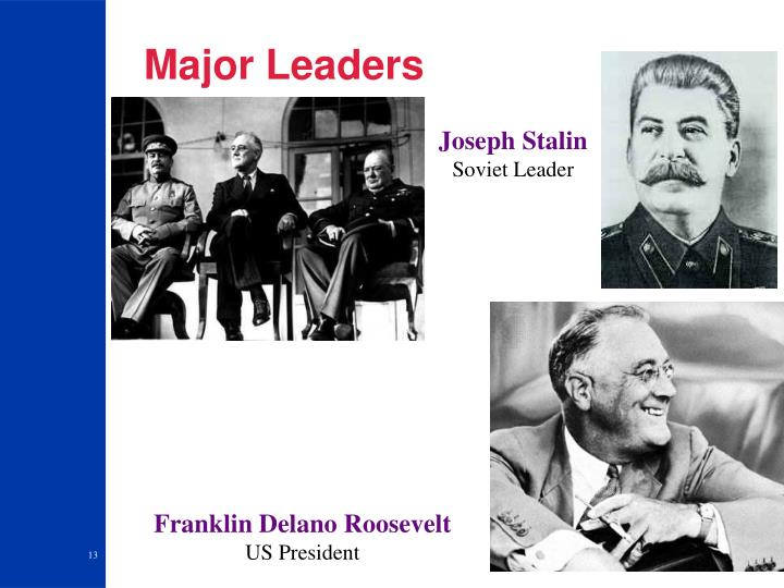 Major Leaders