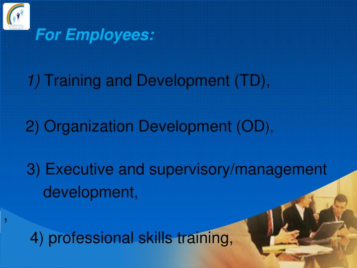 For Employees: