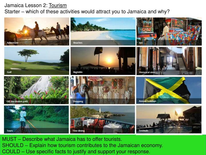 Jamaica Lesson 2: