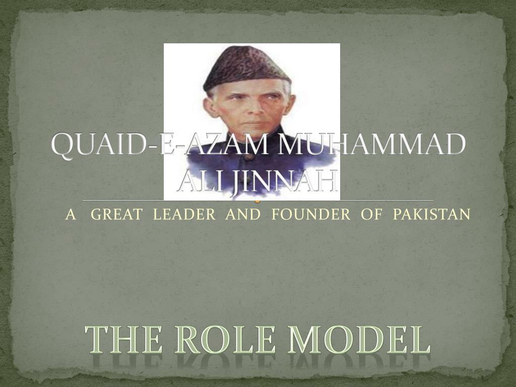 Ppt Quaid E Azam Muhammad Ali Jinnah Powerpoint Presentation Id