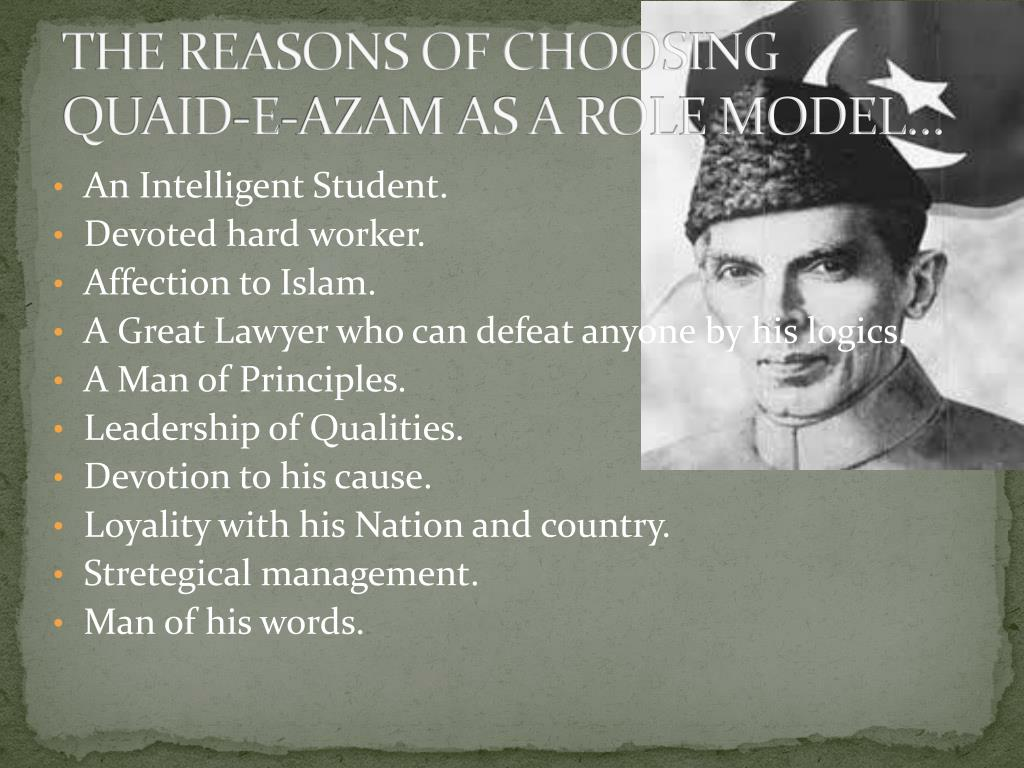 PPT - QUAID-E-AZAM MUHAMMAD ALI JINNAH PowerPoint