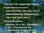 i am not into organized religion2