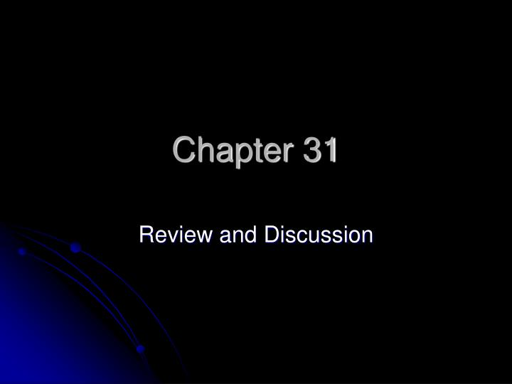 chapter 31 n.