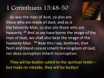 1 corinthians 15 48 50