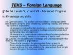 teks foreign language