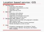 location based service gis