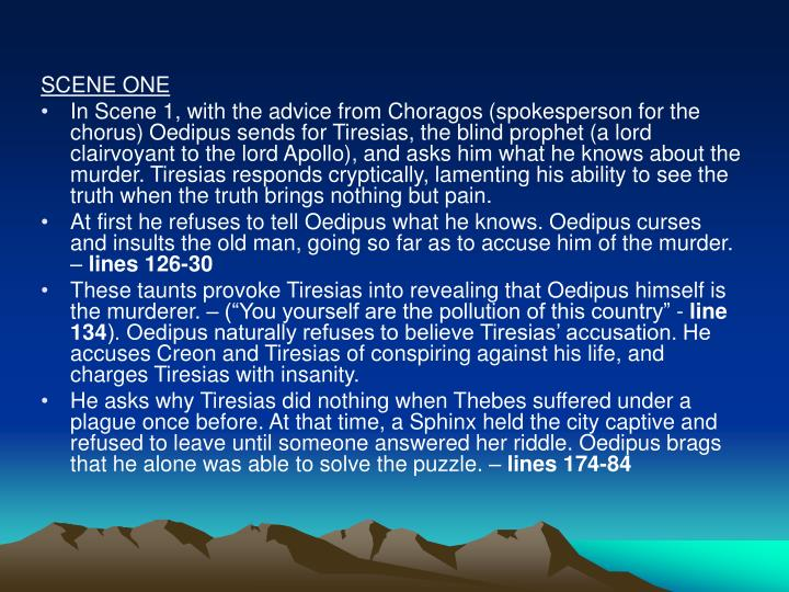 the inevitability of fate in oedipus rex a play by sophocles Oedipus rex by sophocles licensed to youtube by the orchard music (on behalf of saland publishing) umpi, sony atv publishing, ubem, and 6 music rights societies.