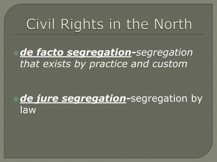 Civil Rights in the North