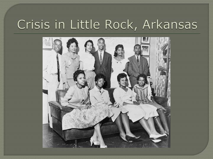 Crisis in Little Rock, Arkansas