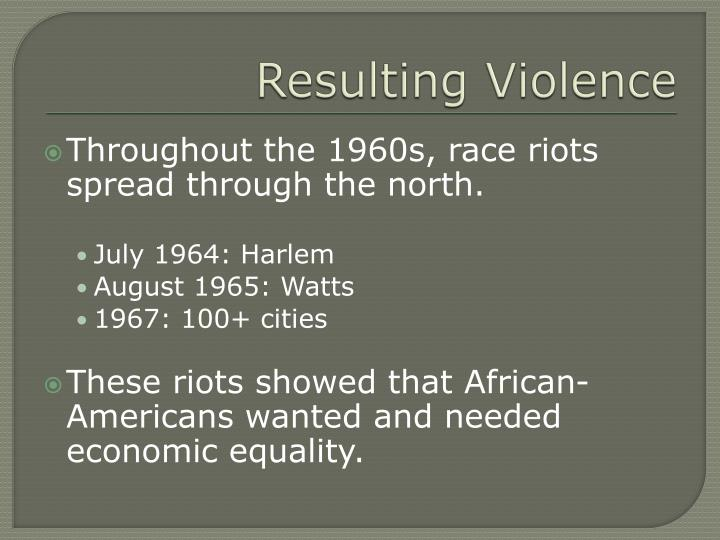 Resulting Violence