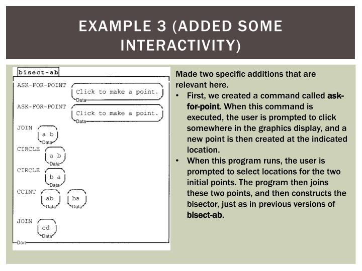 Example 3 (added some Interactivity)