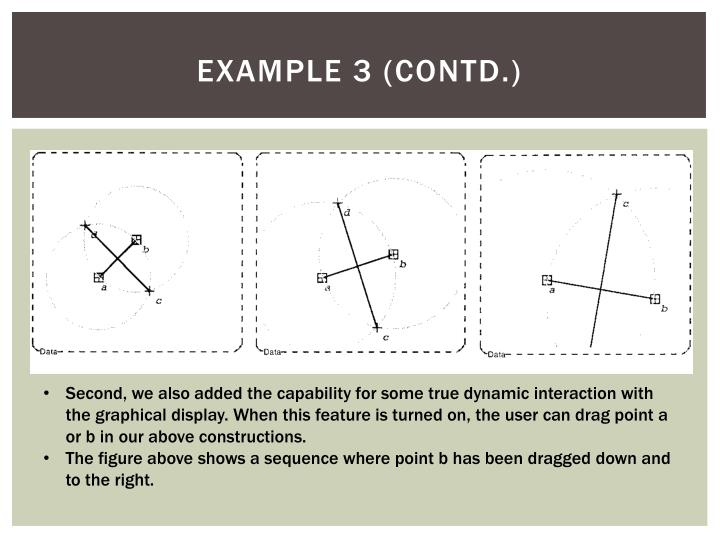 Example 3 (contd.)