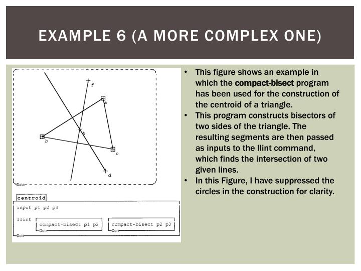 Example 6 (A more complex one)
