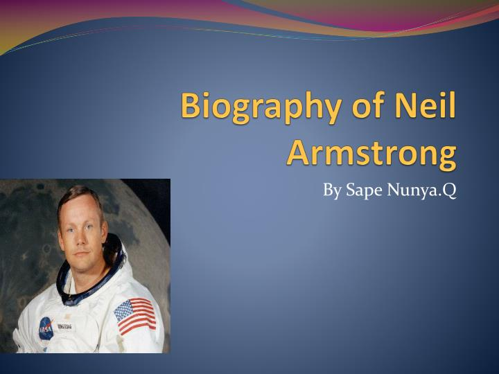 biography of neil armstrong n.