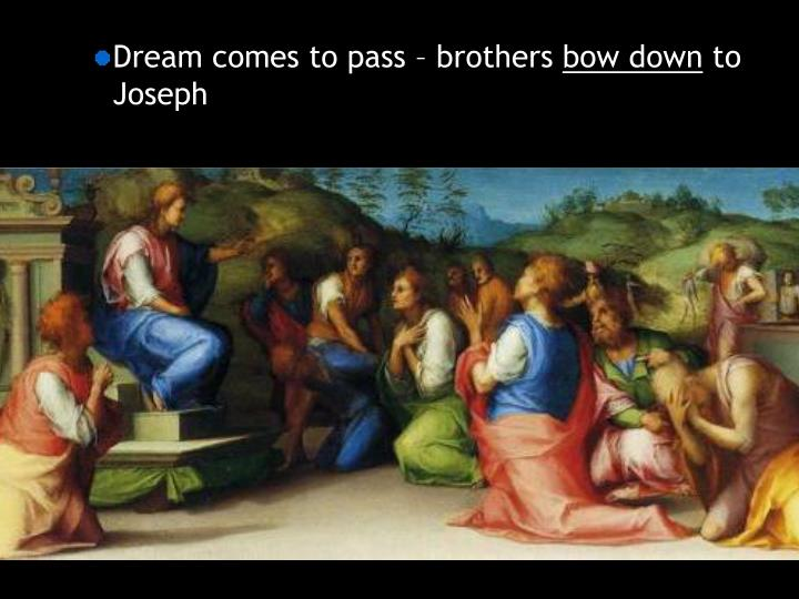 Dream comes to pass – brothers