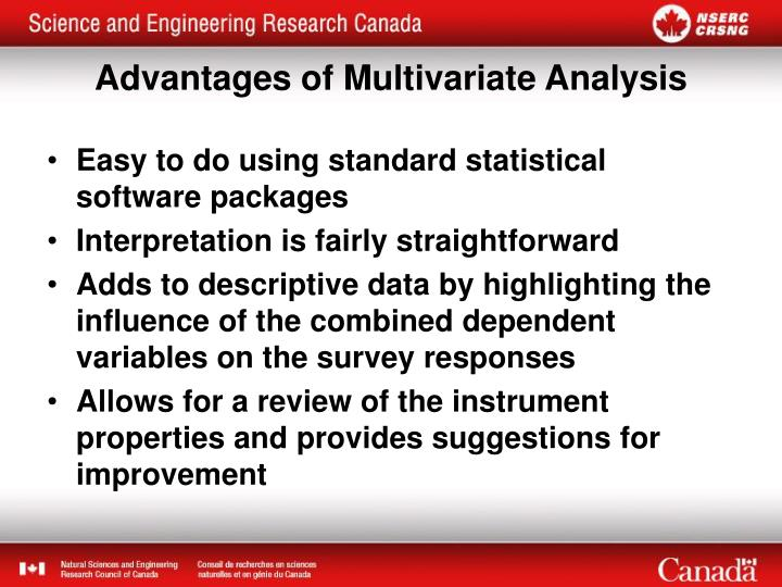 Easy to do using standard statistical software packages