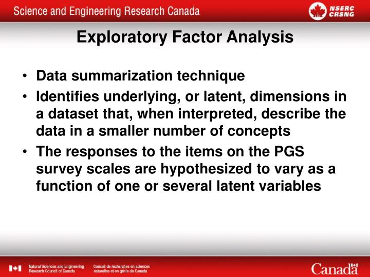 Data summarization technique