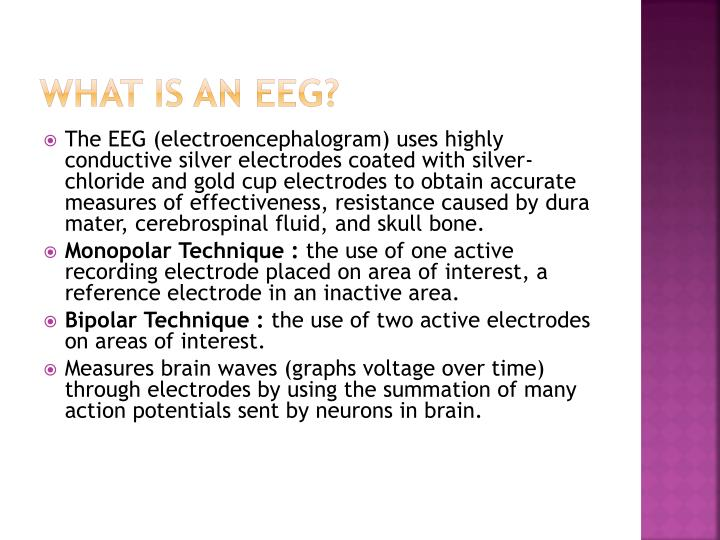 What is an eeg