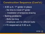 construction sequence cont d1