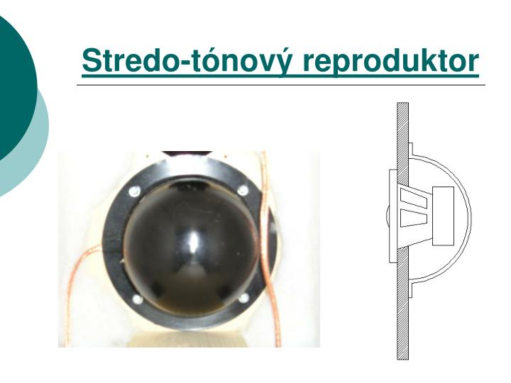 Stredo-tónový reproduktor