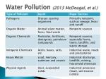 water pollution 2013 mcdougal et al