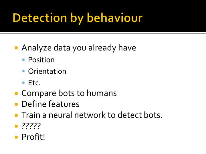 Detection by