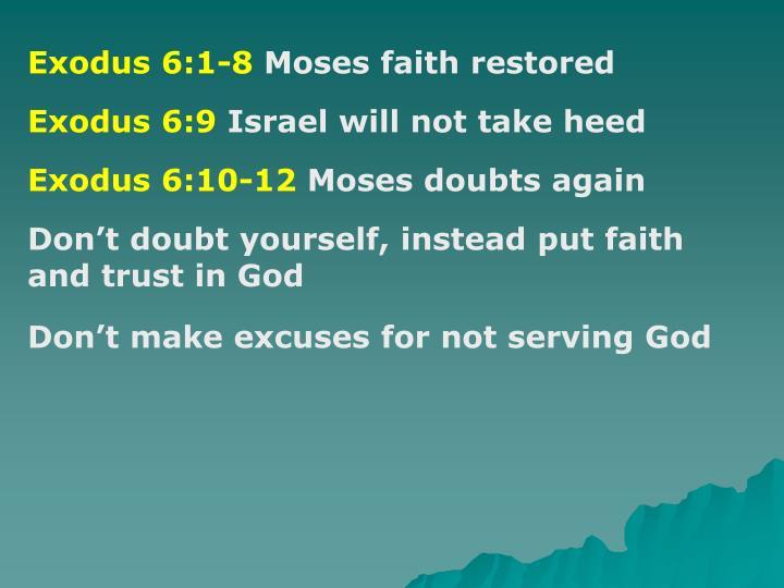 Exodus 6:1-8