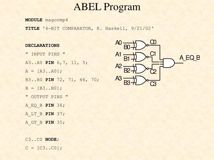 ABEL Program