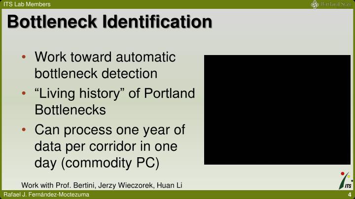 Bottleneck Identification