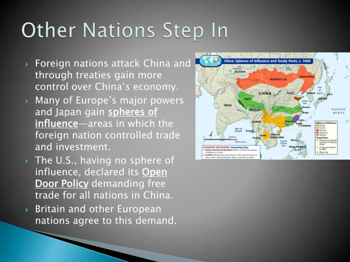 Other Nations Step In