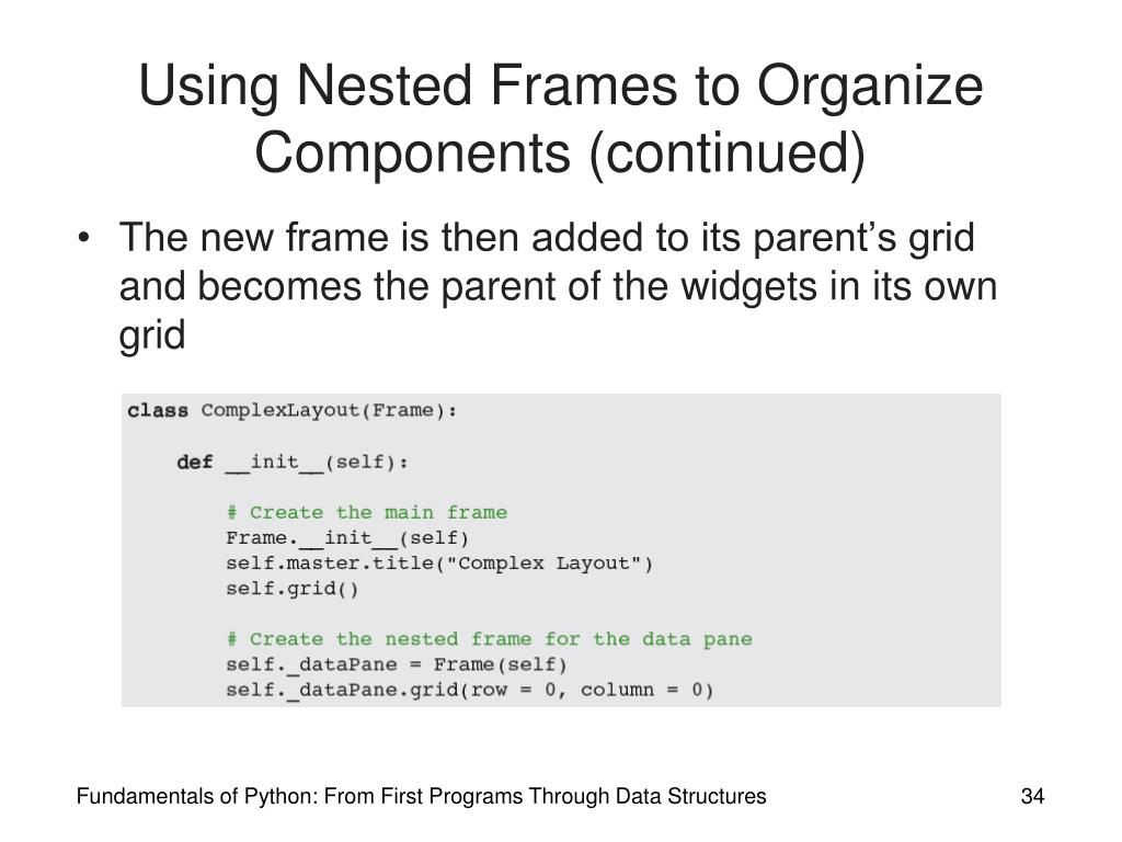 PPT - Fundamentals of Python: From First Programs Through