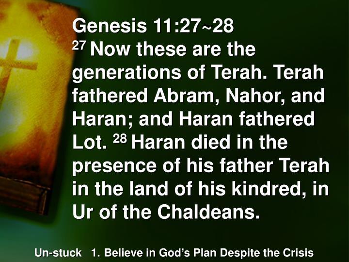 Genesis 11:27~28