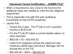 advanced tenant certification jasmin file