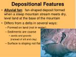 depositional features1