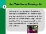 key take home message 4