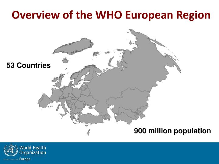 Overview of the WHO European Region