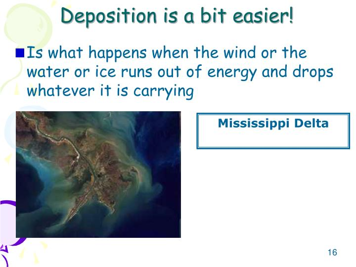 Deposition is a bit easier!