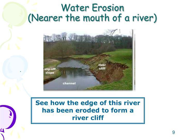 Water Erosion